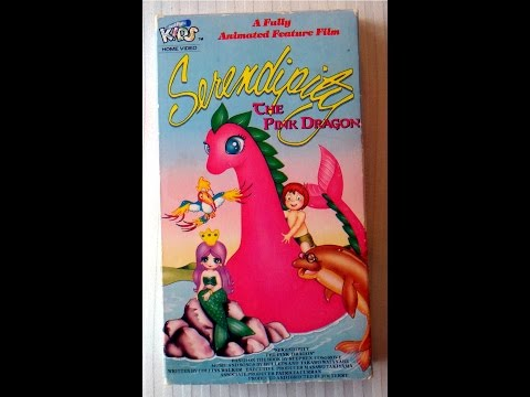 & Closing To Serendipity The Pink Dragon 1990 VHS AVON Copy