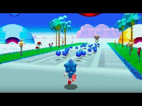 Sonic Mania Official Special Stages, Bonuses and Time Attack Trailer
