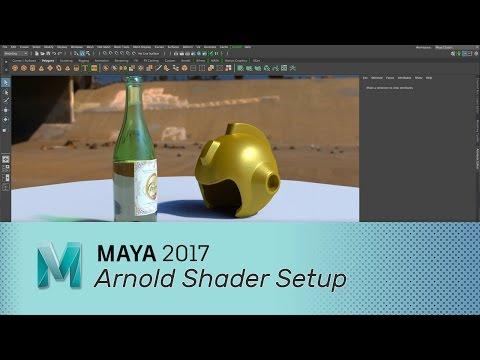 Maya 2017 - Arnold Shaders