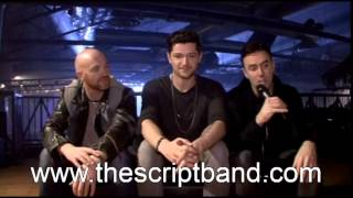 The Script interview on 2Day FM Breakfast (Octobert 14th, 2014)