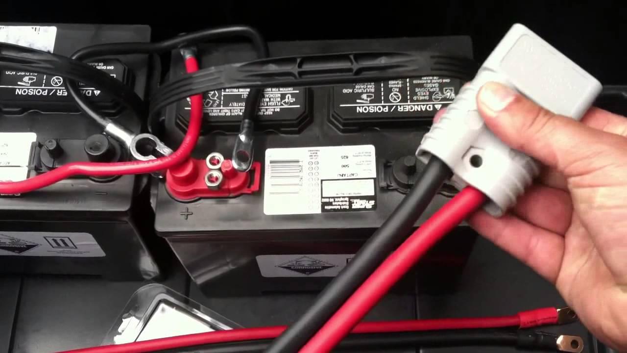 Battery Cable Quick Disconnect Connectors