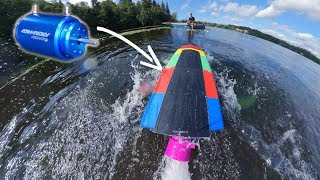 How This Electric Motor BOOSTED My RC Boat