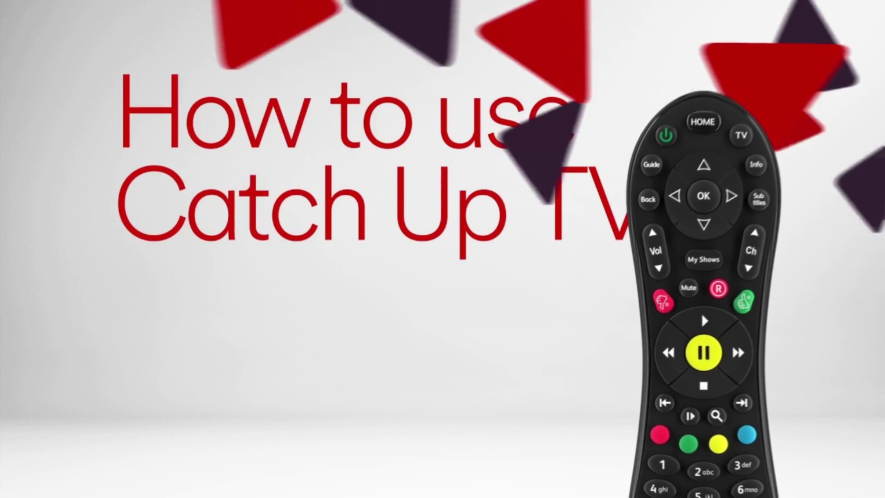 How To Use Catch Up Tv Virgin Media