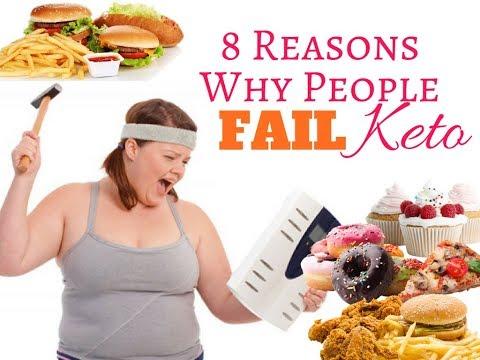 8 Reasons Why People Fail Keto