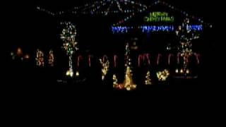 Crazy Train Christmas Lights