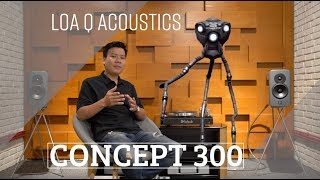 loa BookShelf cao cp Q Acoustics Concept 20