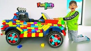 Jason Ride on Toy Race Car
