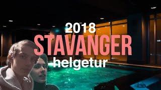 SPA-BASSENG PÅ HOTELLET! | Stavanger 2018 m/ Simen Theie