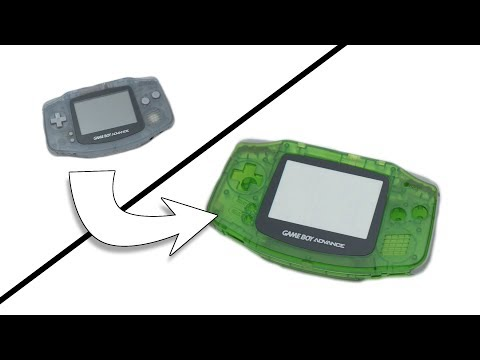 How To Change The Case Of Gameboy Advance