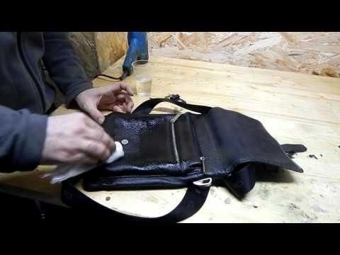 Чем покрасить черную кожаную сумку в домашних условиях