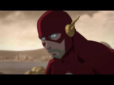 Final Constantine convence a flash de reiniciar el universo dc