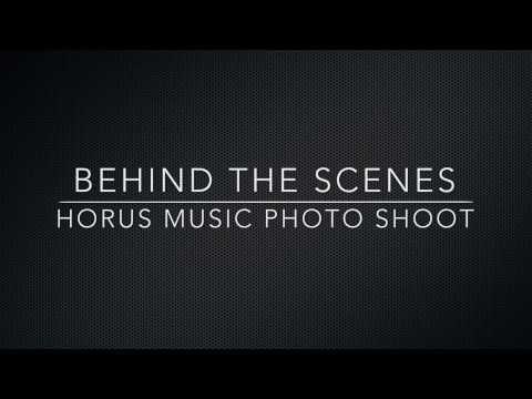 Behind the scenes - Horus Music Photo Shoot