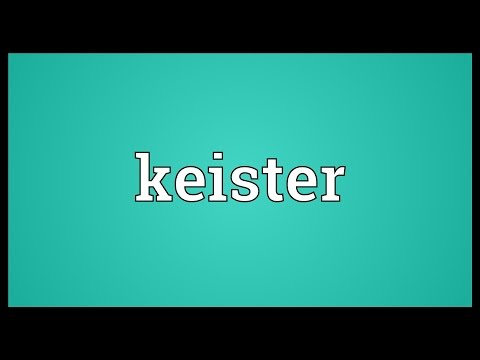 Keister Meaning