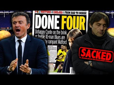 BREAKING: Antonio Conte To Be Replaced By Luis Enrique As Chelsea Boss?!   Futbol Mundial