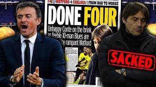 BREAKING: Antonio Conte To Be Replaced By Luis Enrique As Chelsea Boss?! | Futbol Mundial