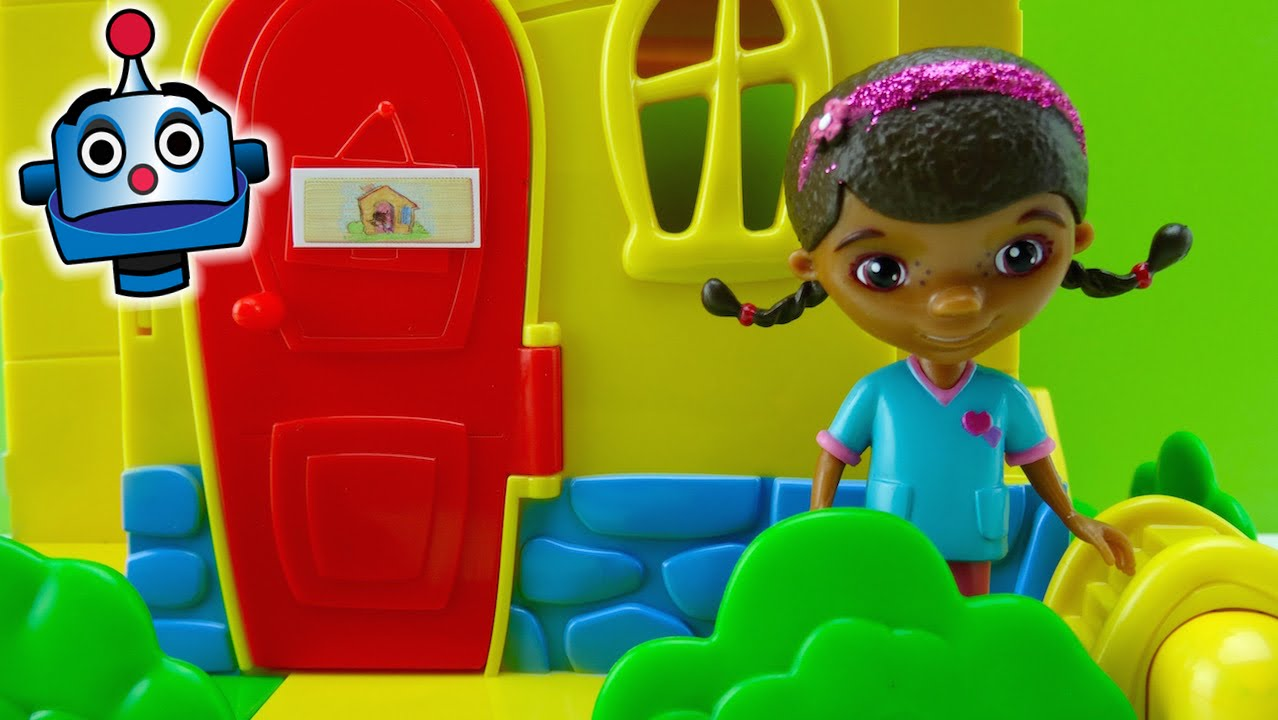 Doc's Clinic Exclusive- Doc McStuffins Toys - YouTube