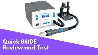 Quick 861de, review and test \ обзор, недостатки, калибровка