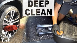 Dirty Car Detailing | Full Interior Exterior Deep Cleaning of a Volkswagen!