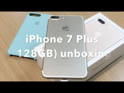 Apple iPhone 7 Plus 128GB (Gold) Unboxing