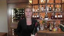 Nina Mann from 3 Michelin Victor's Fine Dining presents the wine selection