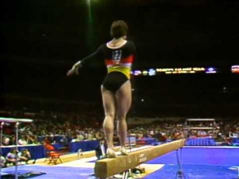 Mary Lou Retton - Balance Beam - 1984 McDonald