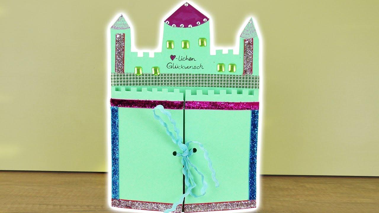 Karte Basteln Geburtstag Einladung Zur Prinzessinnen Ritter Party
