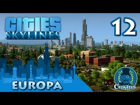 Cities Skylines - Europa - Autobuses y jardines #12 en español