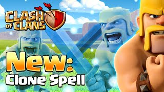 Clash of Clans - NEW SPELL! Clone Spell (New Update)
