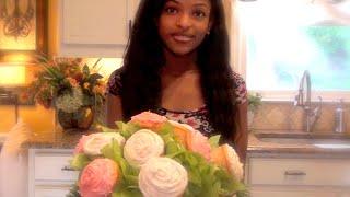 Maya's Mother's Day Surprise - DIY Edible Bouquet