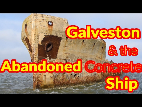 Full Time RV Living | Abandoned Concrete Ship, Oil Rig Museum and More | S2 EP025