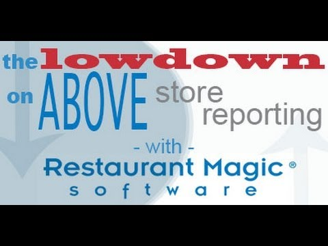 Enterprise Reporting and Business Intelligence with Restaurant Magic: Webcast