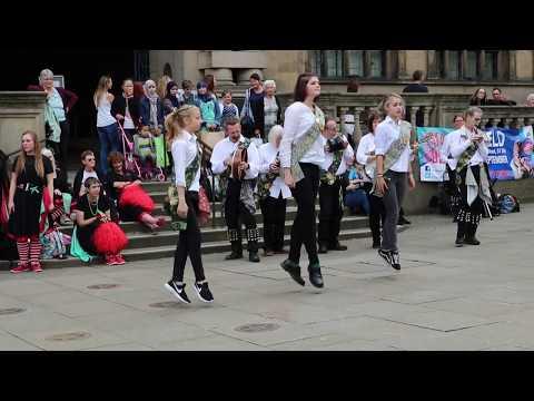 Irish dance at Harthill Morris 40th Birthday