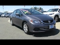 2014 Honda Civic Sedan LX Sacramento  Elk Grove  Roseville  Stockton  Folsom