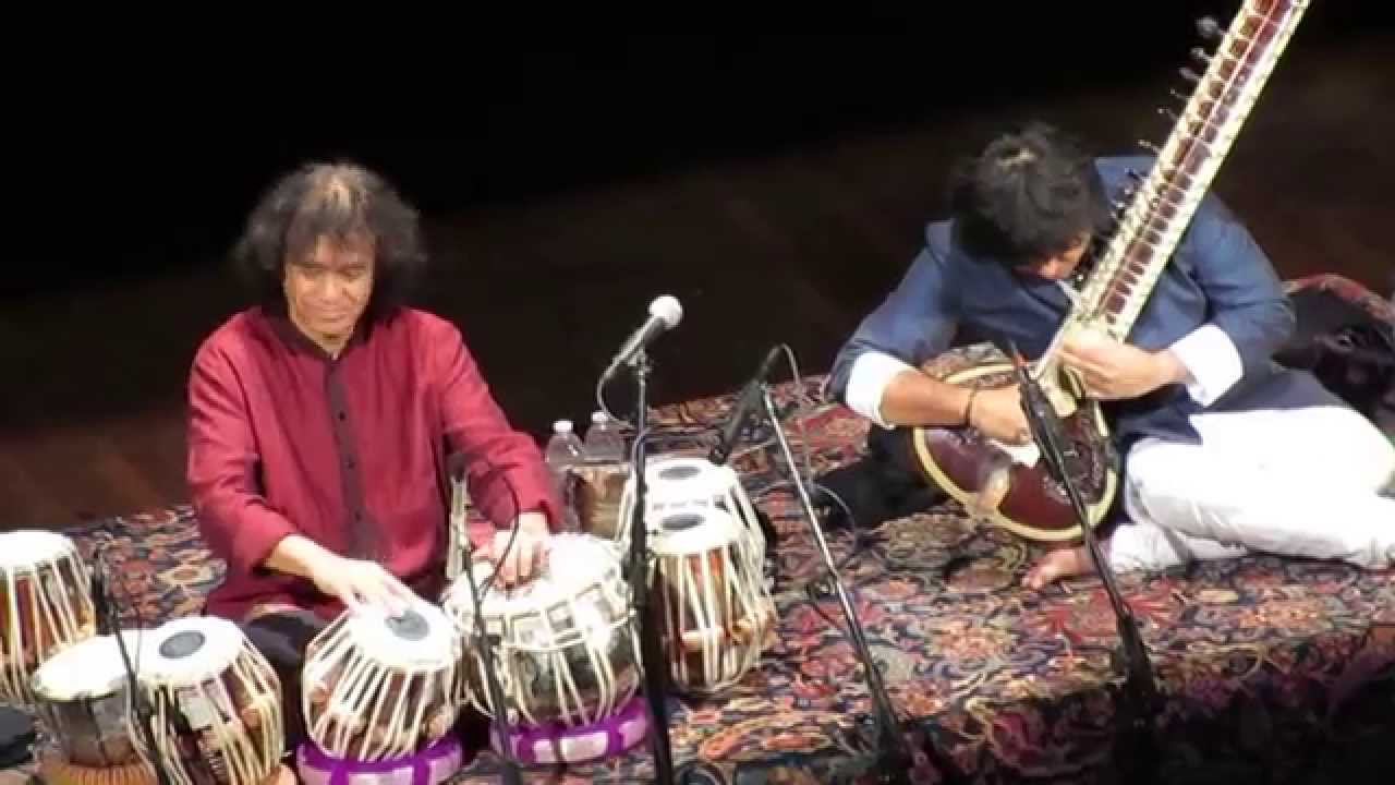 Ustad Zakir Hussain, Ustad Niladri Kumar (Masters of Percussion) at Kennedy Center