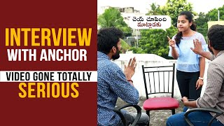 Interview With Anchor (Video Gone Totally Serious) || Funny Pranks in telugu || Mana Dunia