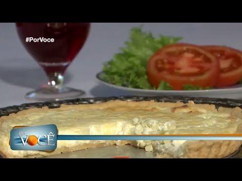 Por Você - Torta de queijo fresco 08/07/17