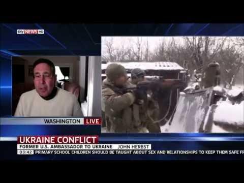 Interview With John Herbst Former US Ambaasador To Ukraine Talking About Ukraine Russia Ceasefire