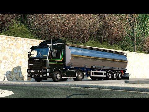 ETS2 1.28 ProMods 2.20 Scania 143  Irun - Lleida