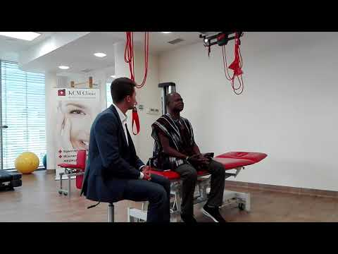 KCM Clinic - Interview our Patient form Ghana - Chronic back pain