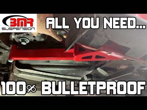 BULLET PROOF your 2018-2019 Mustang GT IRS with BMR CB762 and CB010 (No more wheel hop)
