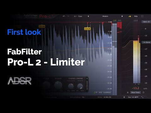 FabFilter Pro-L 2 - Limiter Plug-In : First Look
