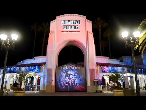 Opening Night of Halloween Horror Nights 2018 at Universal Studios Hollywood / Mazes & Scare Zones