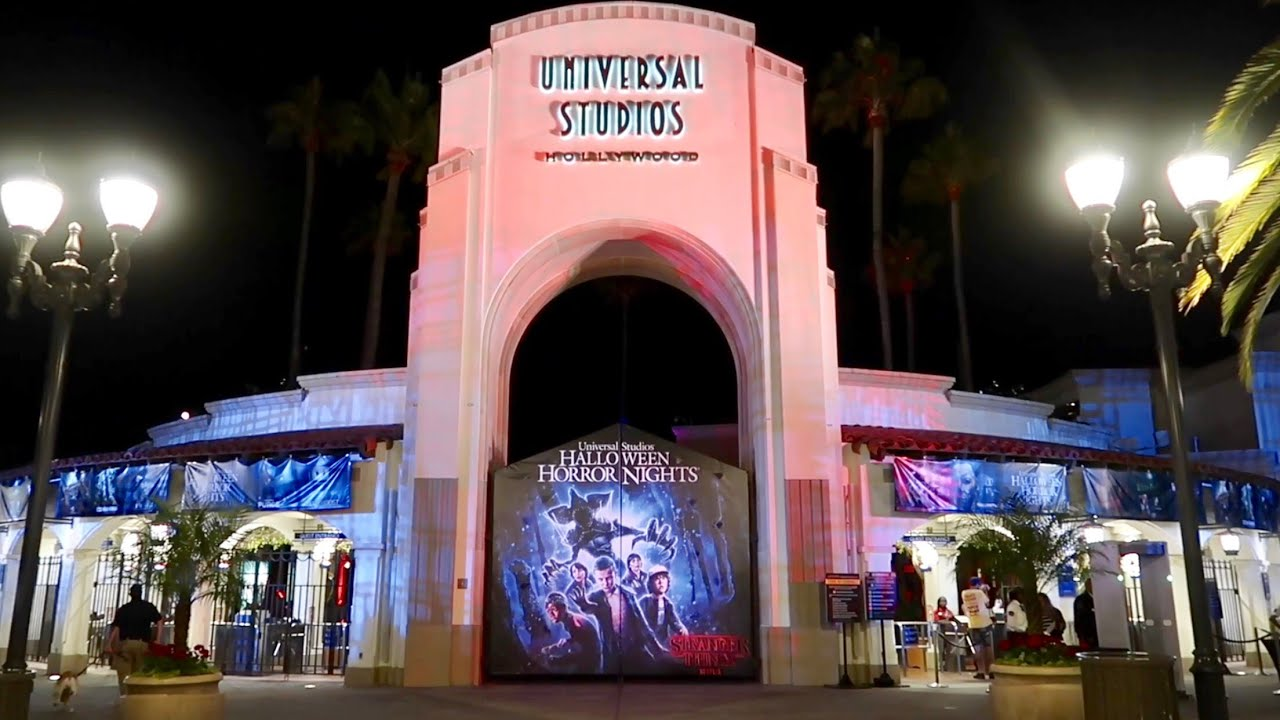 Opening Night Of Halloween Horror Nights 2018 At Universal Studios  Hollywood / Mazes U0026 Scare Zones