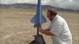 Model Rocket Launch part  3