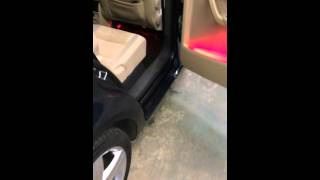 Alpine Electronics VW Touran car audio installation