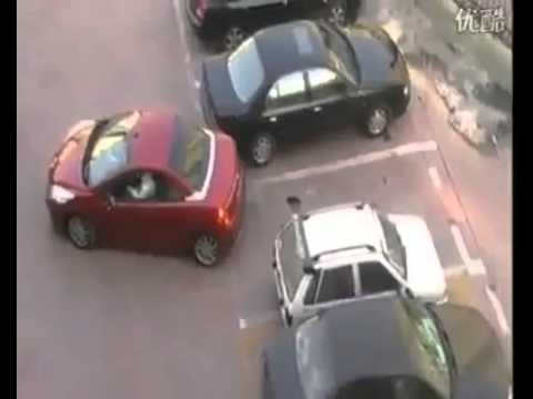 Girls Parking Revenge So Funny Must Watch it