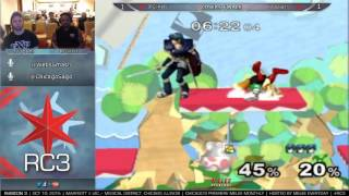 Rubicon 3 [10/10/15] - Losers Finals: TW | Dart! (Marth) vs. IPG | Kels (Sheik, Fox)