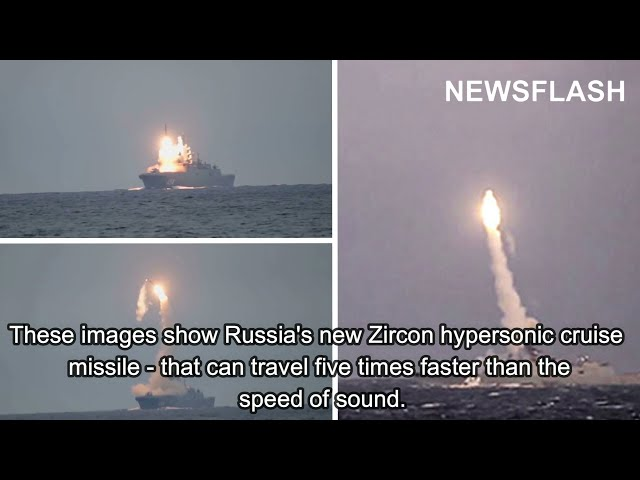 Russian Missile 5 Times Faster Than Speed Of Sound