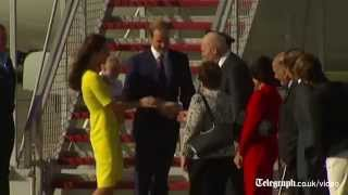 Royal tour: Duke and Duchess of Cambridge arrive in Sydney