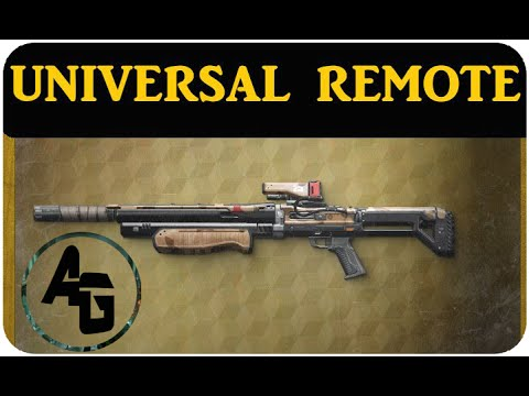 Destiny UNIVERSAL REMOTE Weapon Review AFTER PATCH - YouTube